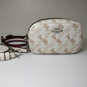 NWT COACH 78603 Convertible Belt Bag Creme Beige